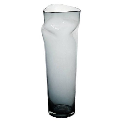 blumenvase bodenvase glas vase andromeda grau 51 cm moderner style art glass powered by. Black Bedroom Furniture Sets. Home Design Ideas