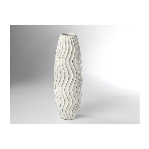 bodenvase aus polyresin wei online kaufen bei woonio. Black Bedroom Furniture Sets. Home Design Ideas