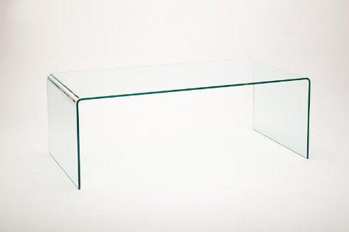 Kleine Wohnzimmertische Design : Design couchtisch gebogenes glas vetrostyle maxi online kaufen bei