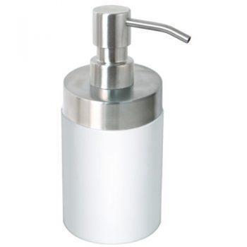 Enzo-Rodi-80021-Flüssigseifenspender-300-ml-Edelstahl-Polyresin-0