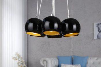 Hängeleuchte-Hängelampe-Pendelleuchte-Retrodesign-schwarzgold-0