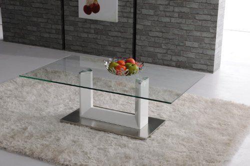 Miraseo-MYHET11-Theo-Esstisch-eleganter-hochwertiger-Esszimmer-Tisch-Küchentisch-aus-MDFgehärtetes-Glas-in-Farbe-Weiß-edles-Design-und-hoher-Komfort-mit-den-Maßen-120x70x40-cm-0