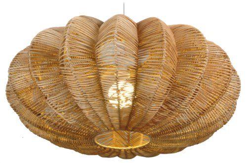 naeve leuchten korb pendelleuchte 50 cm x 35 cm korb holz natur 7001227 online kaufen bei woonio. Black Bedroom Furniture Sets. Home Design Ideas