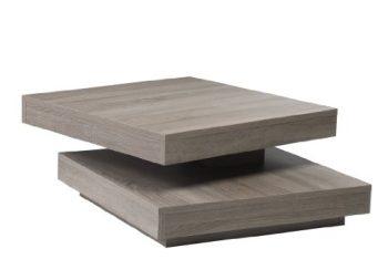 Presto-mobilia-11048-Couchtisch-Gabor-70-78x78x34-cm-Sonoma-Eiche-dunkelEiche-sägerau-dunkelTrüffel-0