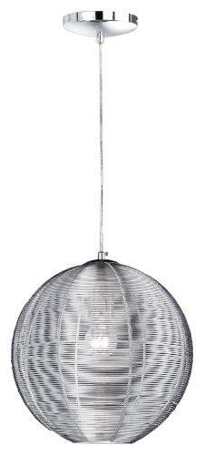 Wofi-Pendelleuchte-1-flammig-ø-30-cm-Abhängung-150-cm-silber-6273.01.70.0300-0