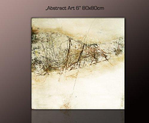 TOP Bilder! Abstraktes Wandbild Xxl Günstig U0026 Modern  (abstract_art 6_80x80cm) Deko Bilder Fertig Gerahmt Mit Keilrahmen Groß Im  Bilder Shop.