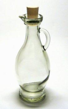 6-Leere-Glasflaschen-Karaffe-Egizia-250ml-0
