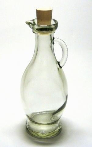 6 leere glasflaschen karaffe egizia 250ml online kaufen bei woonio. Black Bedroom Furniture Sets. Home Design Ideas
