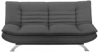 AC-Design-Furniture-47395-Schlafsofa-Jasper-Bezug-Stoff-dunkelgrau-Füße-Metall-verchromt-Liegefläche-ca.-196-x-123-cm-0