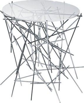 Alessi-FC09-Tischlein-Edelstahl-mit-Glasplatte-Höhe-44-cm-Durchmesser-45-cm-0