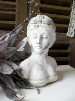 Büste-Frauenbüste-Skulptur-Damenbüste-Figur-Dekoration-Landhaus-Shabby-Chic-0