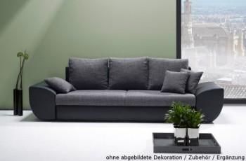 Big-Sofa-mit-Schlaffunktion-und-Bettkasten-in-schwarzgrau.-Rückenecht-bezogen-mit-Wellenfederpolsterung-Maße-BHT-ca.-2729096-cm-0