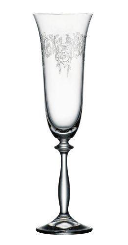 Bohemia-Cristal-093006014-Sektkelche-190-ml-Romance-6-er-Set-0