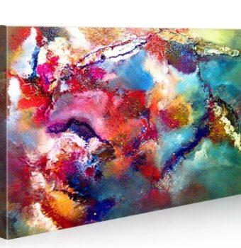 Cornwall-100x65-Bild-Leinwand-Abstrakte-Kunst-Bilder-auf-Leinwand-fertig-aufgespannt-exklusiver-Foto-Kunstdruck-modernes-XXL-Bild-Poster-Wandbild-Leinwandbild-Impressionen-0