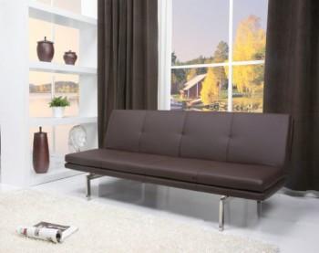 ECHTWERK®-EW-SC-0790-Schlafsofa-Culture-dunkelbraun-couch-2-Sitzer-Sofa-0