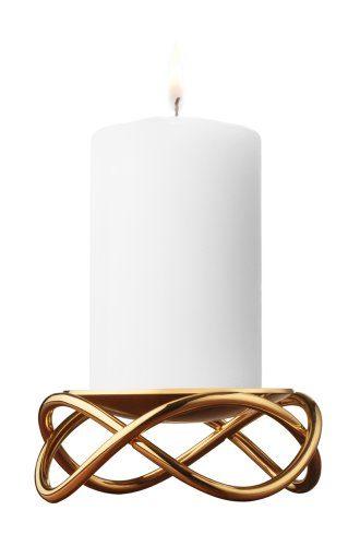 Georg-Jensen-Glow-Kerzenhalter-gold-ø-105-cm-0