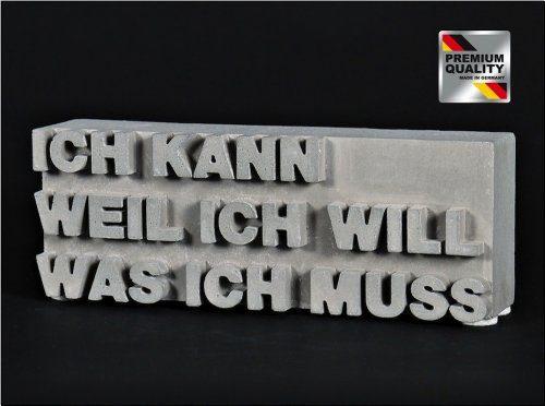 Geschenkidee-Motivation-ICH-KANN-WEIL-ICH-WILL-WAS-ICH-MUSS-Immanuel-Kant-Beton-Skulptur-Figur-Deko-Dekoration-Made-in-GER-0