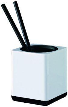HAN-17653-32-Stifteköcher-i-Line-Kunststoff-79-x-95-x-79-mm-weiß-schwarz-0