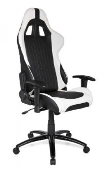 HJH-OFFICE-625300-Racing-Gaming-Chair-Sportsitz-Monaco-schwarz-weiß-0