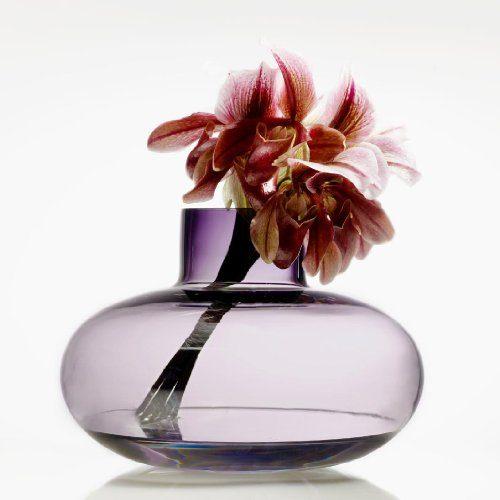 Holmegaard-Simplicity-Vase-lila-Höhe-185-0