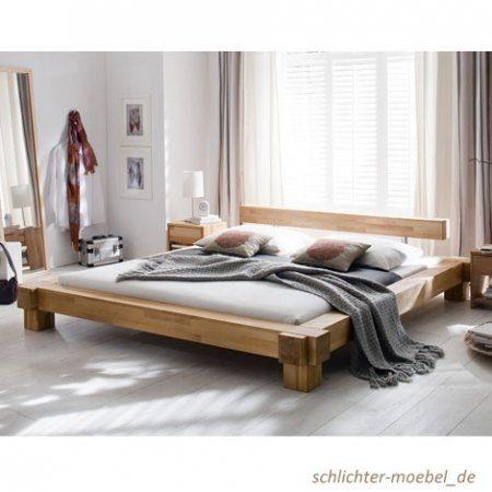 """Holzbett massiv 180x200  Holzbett """"Victoria"""" Kernbuche Massiv (180 x 200 cm) online kaufen ..."""