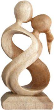 Holzfigur-Traumpaar-Feng-Shui-Figuren-Variante-GrößeFarbe-20-cm-hell-0