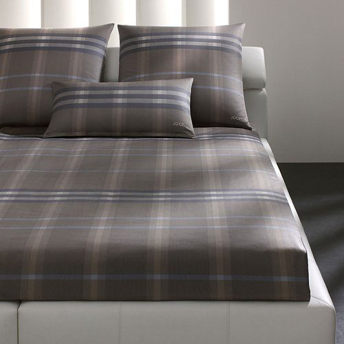 Joop Bettwaesche Mako Satin Tartan Layers 80x80 Cm 135x200 Cm