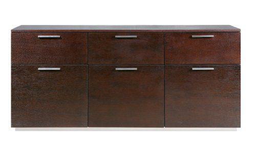 Miraseo-MYHHSB5WE-Lars-Sideboard-hochwertige-Anrichte-Wohnzimmerschrank-aus-MDF-in-Farbe-Wenge-schönes-Design-viel-Platz-und-hoher-Komfort-für-Ihr-Wohnzimmer-Ambiente-Maße-1604x45x728-cm-0