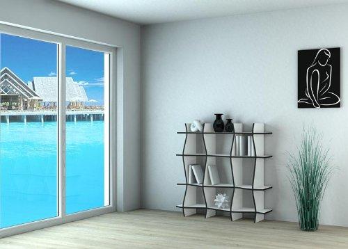 regal weiss designregal weiss b cherregal weiss ablageregal weiss online kaufen bei woonio. Black Bedroom Furniture Sets. Home Design Ideas
