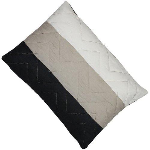 riva paoletti kissen chevron gef llt schwarz 30 x 40 cm online kaufen bei woonio. Black Bedroom Furniture Sets. Home Design Ideas