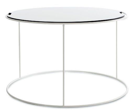 Sitting-Bull-25100-Beistelltisch-Bulls-Table-Outdoor-medium-ø-65-x-H-41-cm-weiß-0