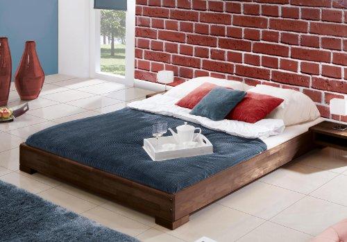 stilbetten bett holzbetten mona ohne kopfteil buche natur ge lt 180x200 cm online kaufen bei. Black Bedroom Furniture Sets. Home Design Ideas