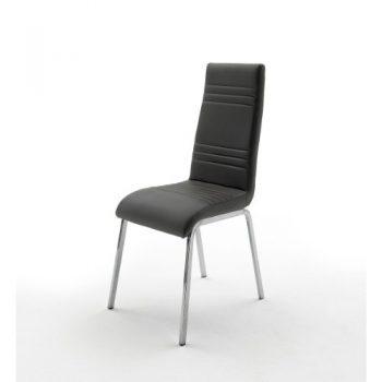 Stuhl-Dora-in-Kunstleder-Schwarz-0