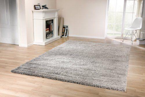 tara shaggy silber grau 160x230 cm online kaufen bei woonio. Black Bedroom Furniture Sets. Home Design Ideas