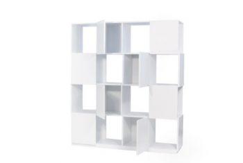 TemaHome-Branch-Regal-4x4-mit-4-Türen-in-glattweiss-Matt-lackiert-0