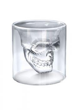 Uniqstore-6-Stk-Doomed-Skull-Shot-Glass-Totenkopf-Schnapsglas-Schädel-Wein-Vodka-Skull-Head-Klar-Glas-Tasse-für-Hause-Bar-Party-0