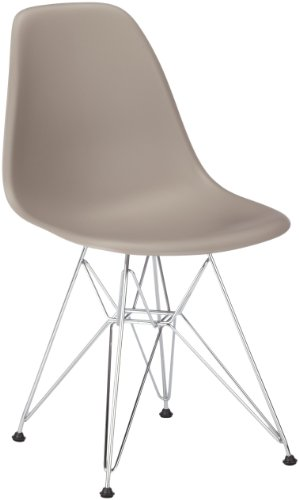 vitra 440022000125 stuhl dsr eames plastic sidechair gestell verchromt mauve grau online kaufen. Black Bedroom Furniture Sets. Home Design Ideas