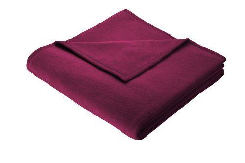 bocasa by biederlack 240004 wohndecke orion cotton dunkelrot online kaufen bei woonio. Black Bedroom Furniture Sets. Home Design Ideas
