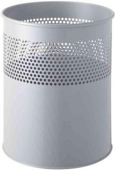 helit-Metall-Papierkorb-LochdekorH2515787-aluminiumgrau-Inhalt-15-Liter-0