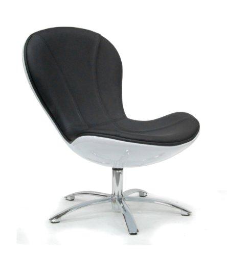 tenzo drehsessel tequila 653 schwarz wei online kaufen bei woonio. Black Bedroom Furniture Sets. Home Design Ideas