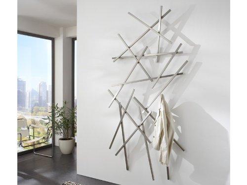 wandgarderobe matches edelstahl geb rstet spinder dekoobjekt online kaufen bei woonio. Black Bedroom Furniture Sets. Home Design Ideas