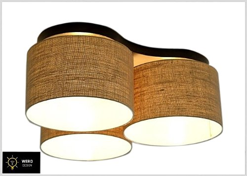wero design deckenlampe deckenleuchte leuchte malaga 003 eco online kaufen bei woonio. Black Bedroom Furniture Sets. Home Design Ideas