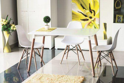 Design-Holztisch-Esstisch-Nolan-120x80-Weiß-Holzfüße-Retro-0