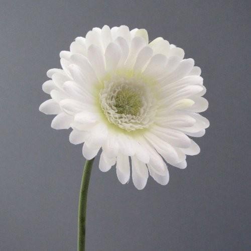 Kunstblume-Gerbera-50cm.-WEISS-0