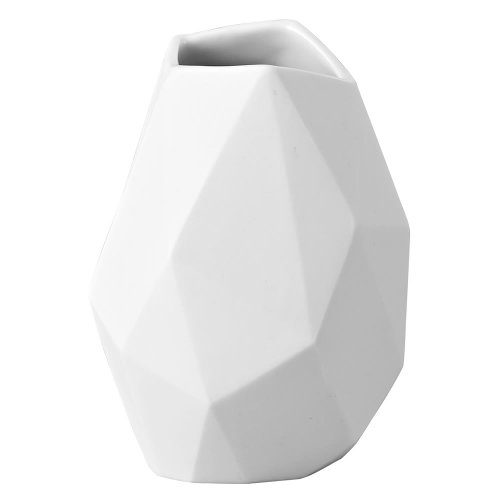 Rosenthal-14270-100102-26009-Miniaturvase-Surface-aus-weißem-Porzellan-Höhe-9-cm-0
