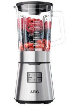 AEG-Standmixer-PremiumLine-7Series-SB-7300S-900-Watt-165-Liter-TruFlow-Titan-beschichtete-Messer-LED-Hinterleuchtung-Edelstahl-0