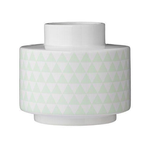 Bloomingville-Vase-Keramik-wei-mint-16cm-0