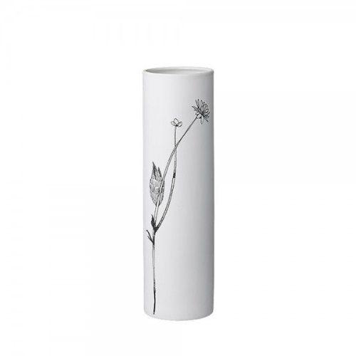 Bloomingville-Vase-mit-Blumen-Print-wei-von-Bloomingville-0