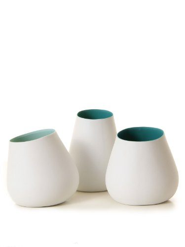 bloomingville votive porcelaine vase white green one size online kaufen bei woonio. Black Bedroom Furniture Sets. Home Design Ideas