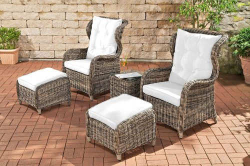 clp poly rattan balkon sitzgruppe treviso grau meliert ben tigte stellfl che 2 x 2 meter 5 mm. Black Bedroom Furniture Sets. Home Design Ideas